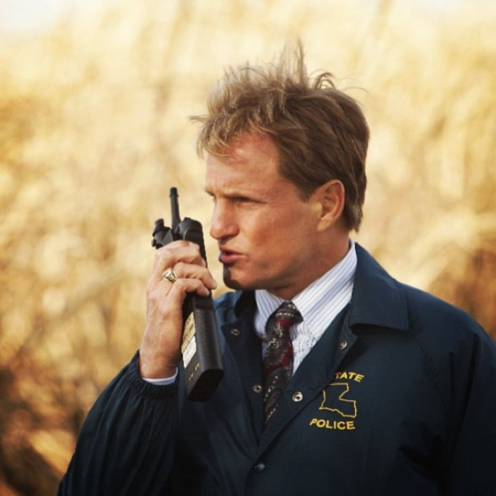 20 Things Inside Woody Harrelson's Mouth on True Detective