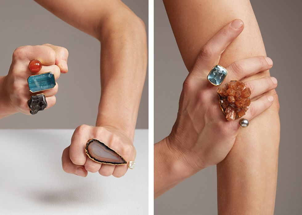 Cecile zu Hohenlohe's Jewelry Line Rises From the Ashes