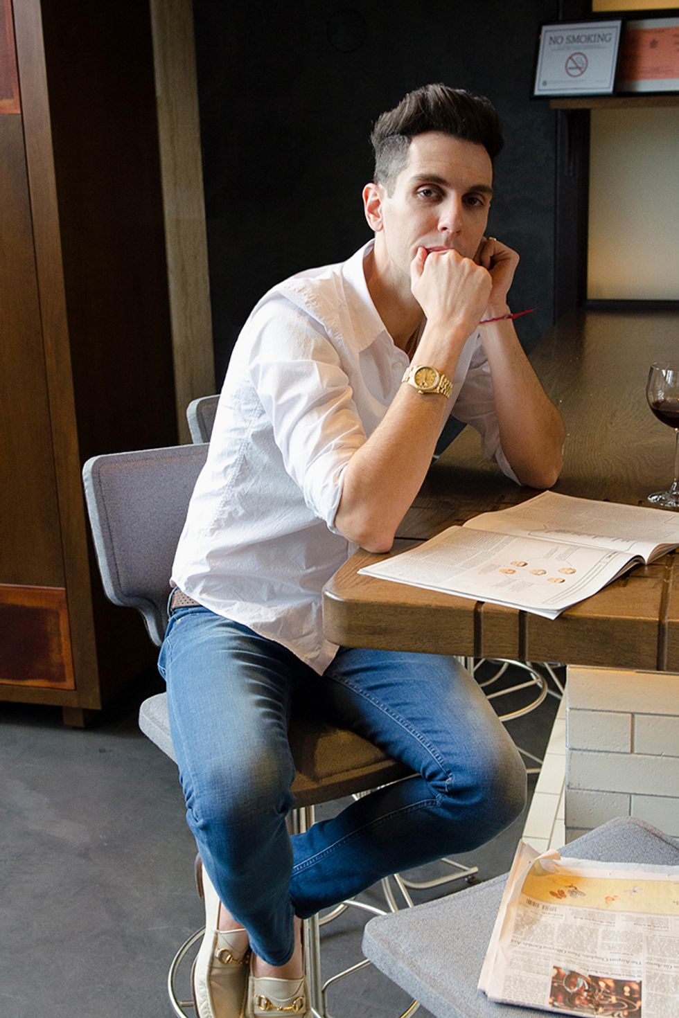 Gabe Saporta Gives Us The Deets