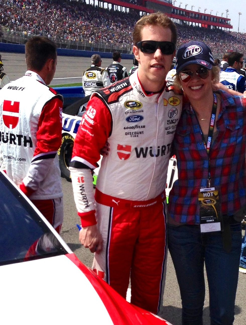 "Jenny Johnson's Day at NASCAR: ""It Was So Baller"""