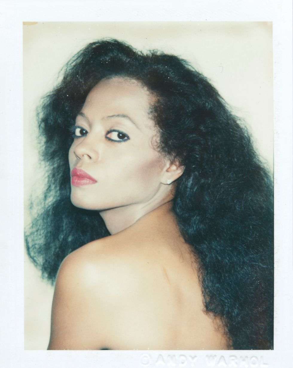 12 Amazing Celebrity Portraits From Andy Warhol's Private Polaroid Collection