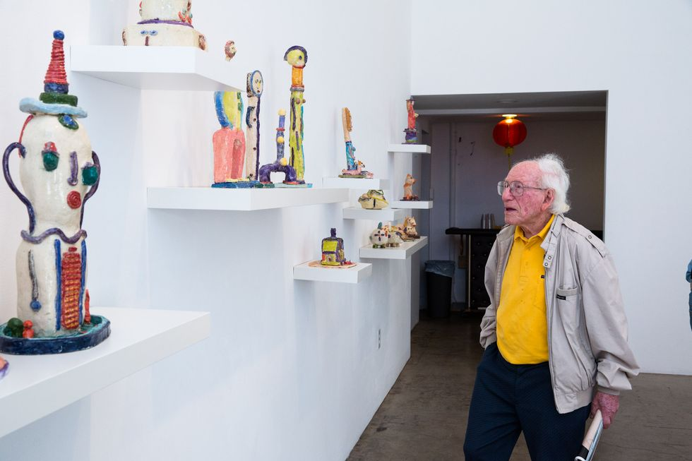 Photos From a 103-Year-Old Sculptor's Debut Art Show