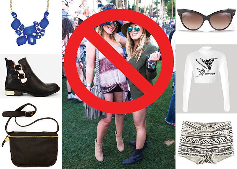 """10 Stylists Tell Us How to Avoid Dressing Like a """"Basic Bitch"""" at Coachella"""