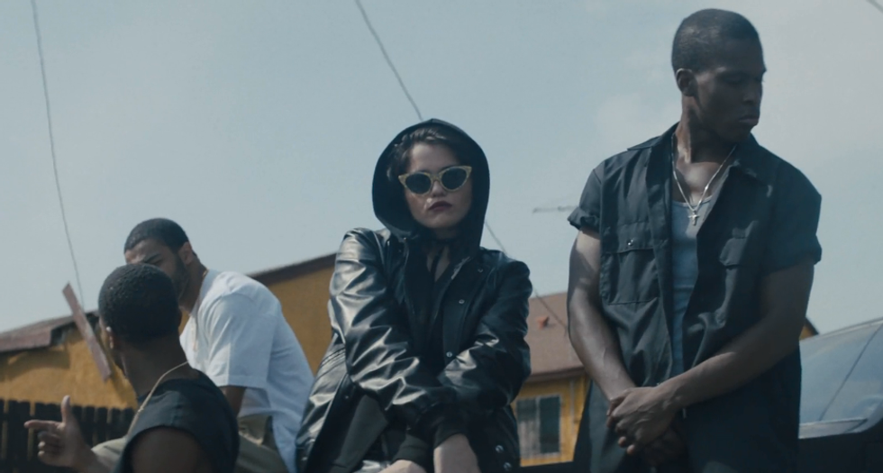 "Sky Ferreira Fronts a Gang, Gets Arrested In New Video for ""I Blame Myself"""