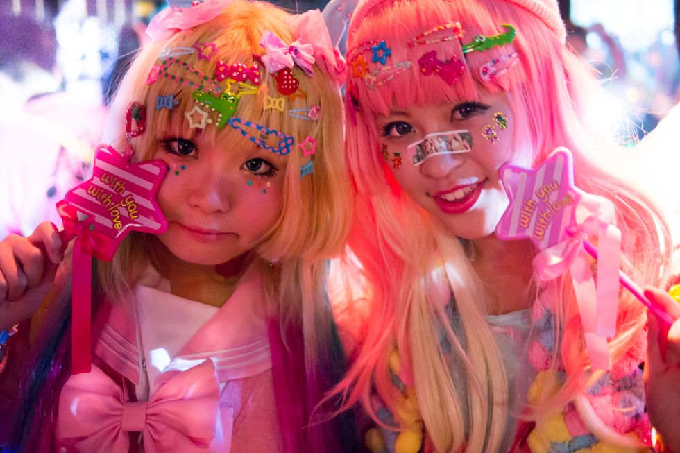 """Exploring Harajuku Parties, Nightclub Rules, and a """"Celibacy Syndrome"""" In Tokyo"""