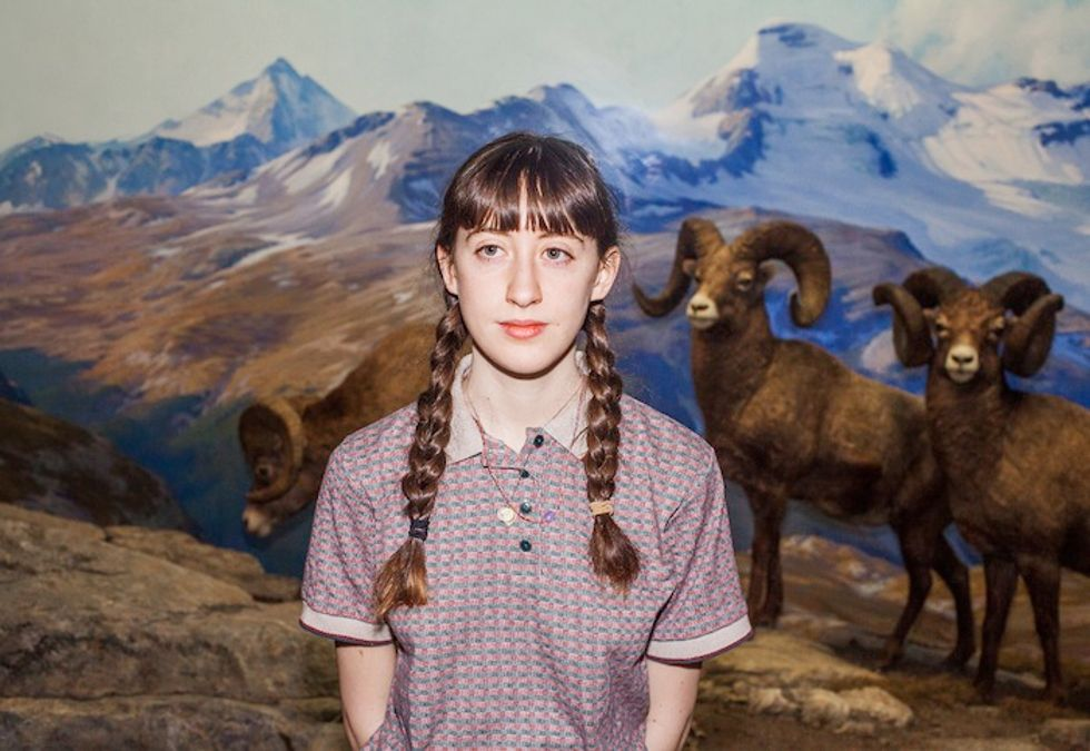 "Musician Frankie Cosmos On Her Debut Album and Playing In a ""Doggy Style"" Band"