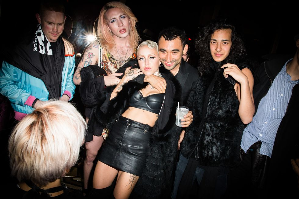 "Brooke Candy and Nicola Formichetti Celebrate the Launch of the Rapper's New Video, ""Opulence"""