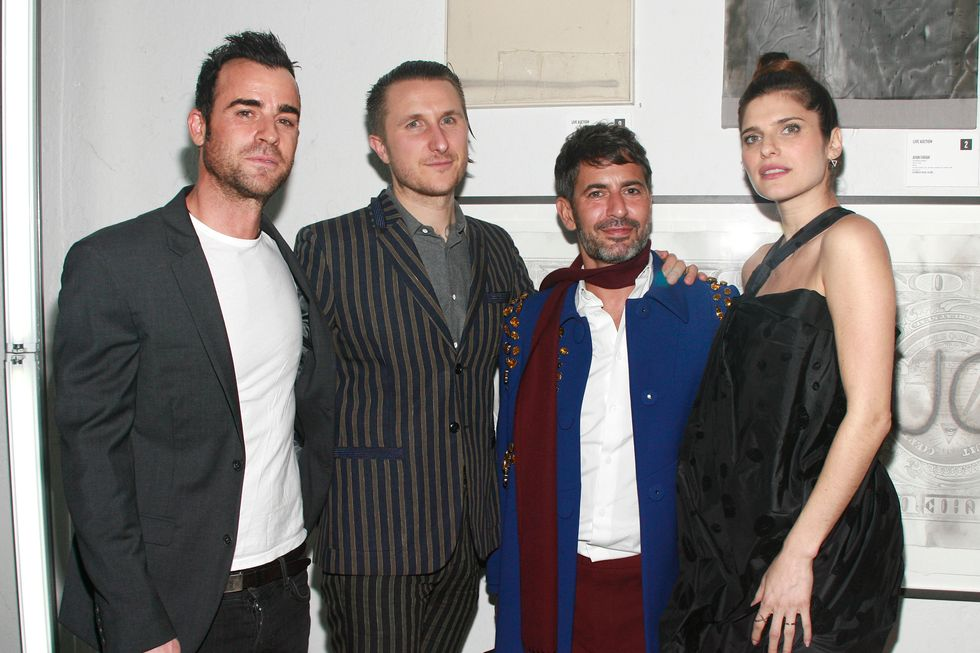 Marc Jacobs, Lake Bell, Justin Theroux and More Attend Free Arts NYC's Annual Art Auction