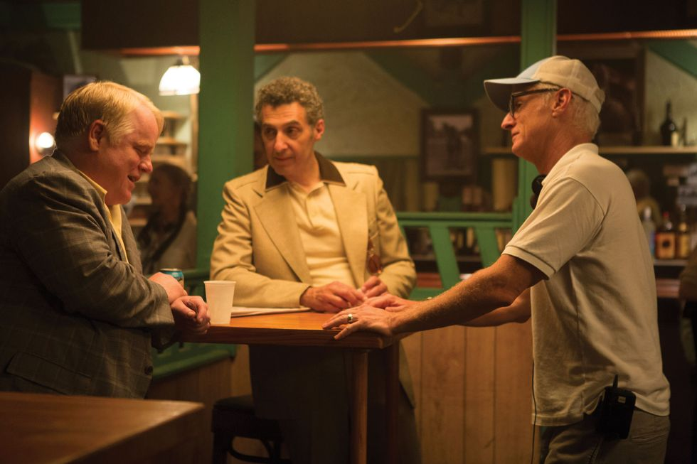 John Slattery On His New Movie, God's Pocket, and Working With Philip Seymour Hoffman