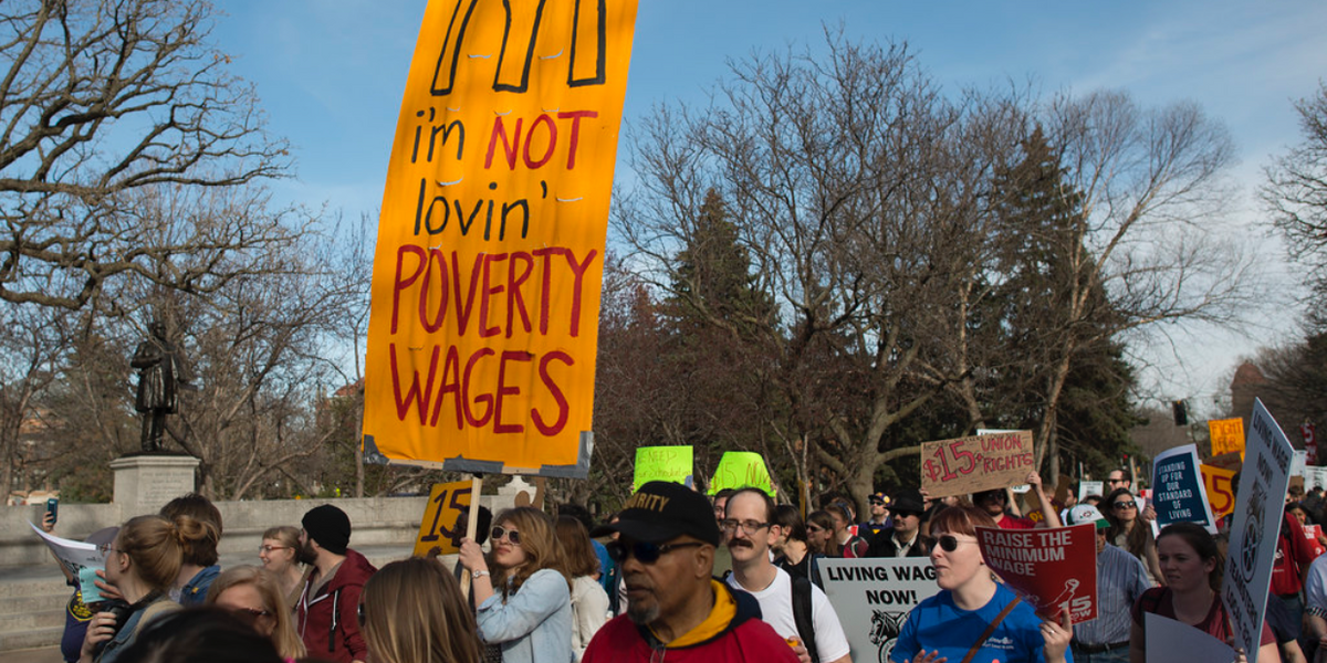 To Save Americans From Starving, Congress Must Raise Minimum Wage