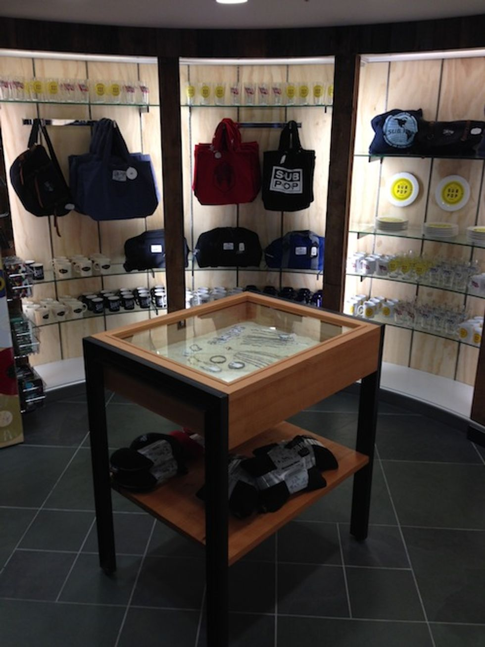 Take a Tour of Sub Pop's Seattle Airport Store