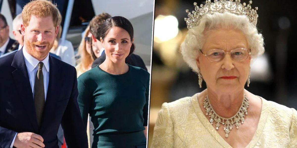 Queen Breaks Silence Before Meghan and Harry Interview in Address to Nation