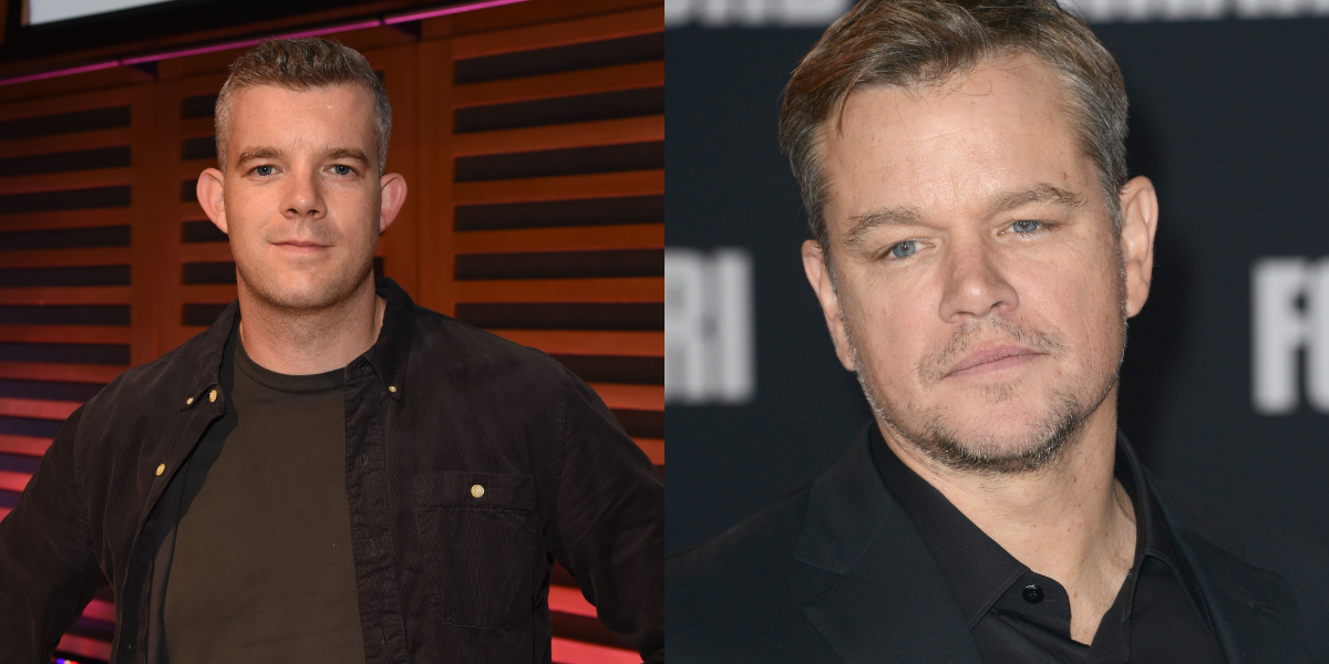 Russell Tovey Hilariously Responds After Being Compared To A Bad Matt Damon Lookalike