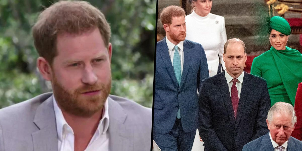 Prince Harry Claims Royal Family 'Cut Him Off Financially' and Says William is 'Trapped'