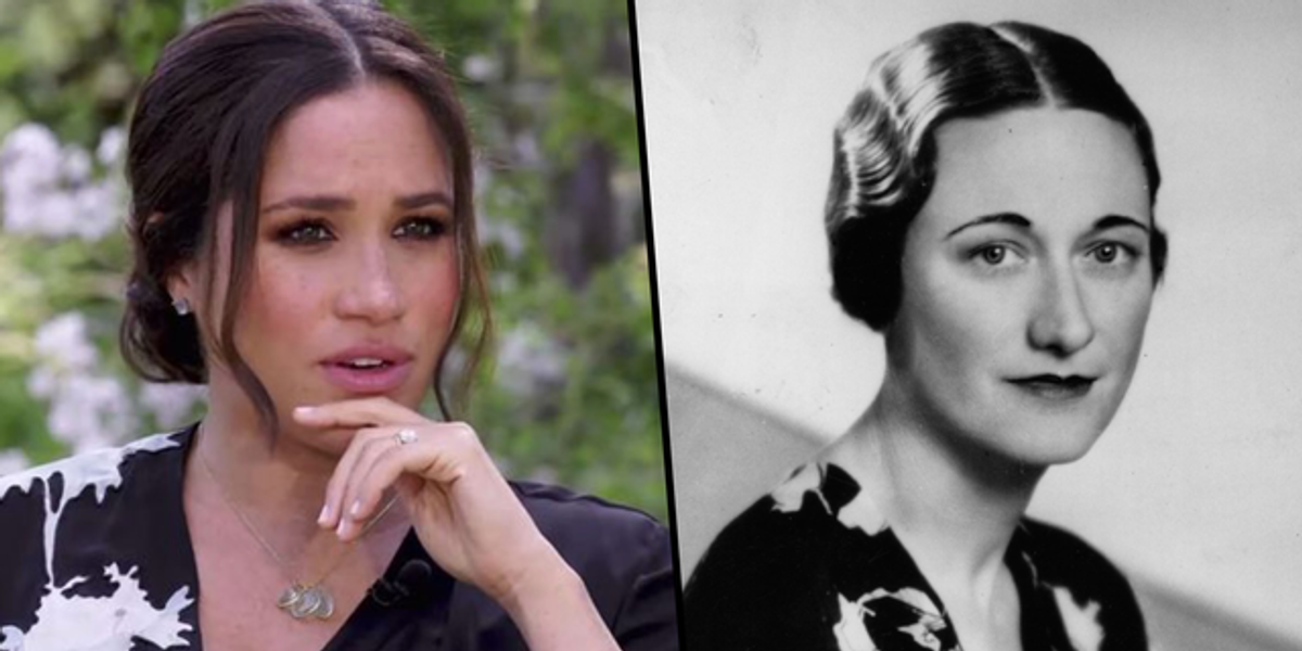 Viewers of Meghan Markle Oprah Interview Think She Was Inspired By Wallis Simpson
