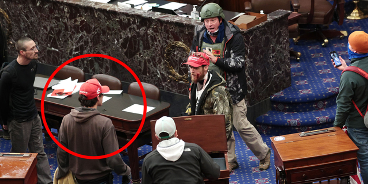 Alleged Capitol Rioter Begs Judge To Send Him Home To Parents