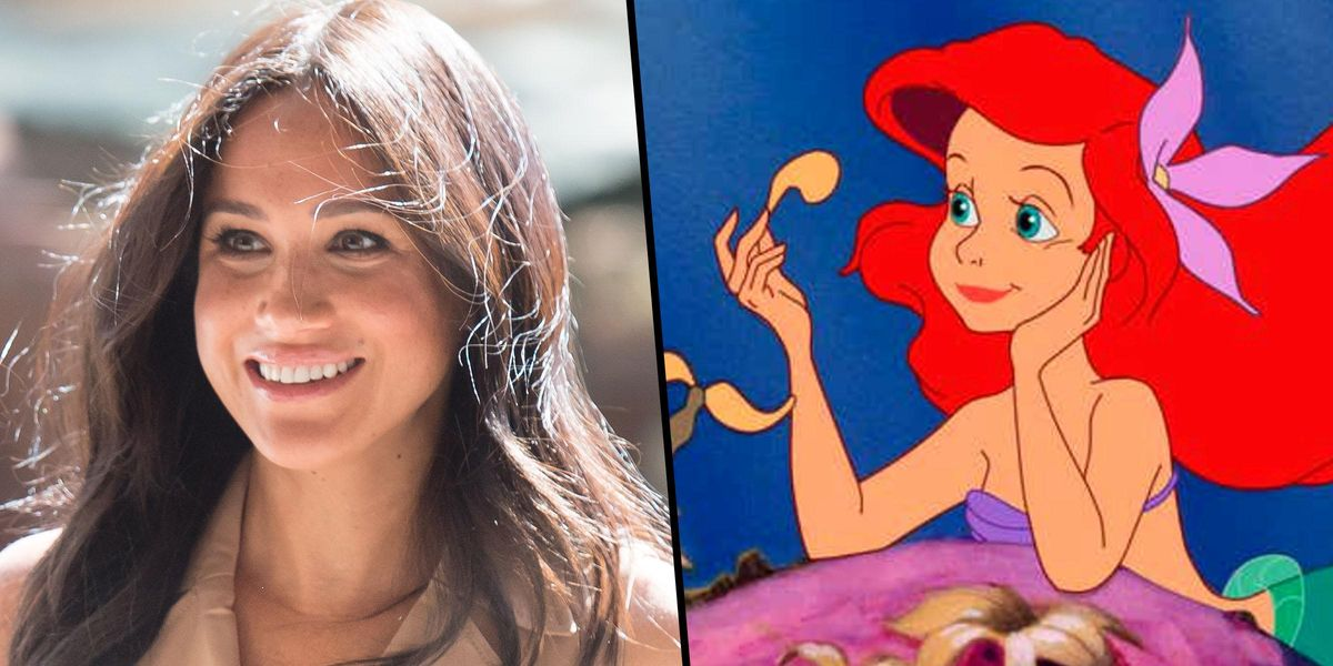 Meghan Markle Compares Herself To Ariel From 'The Little Mermaid'