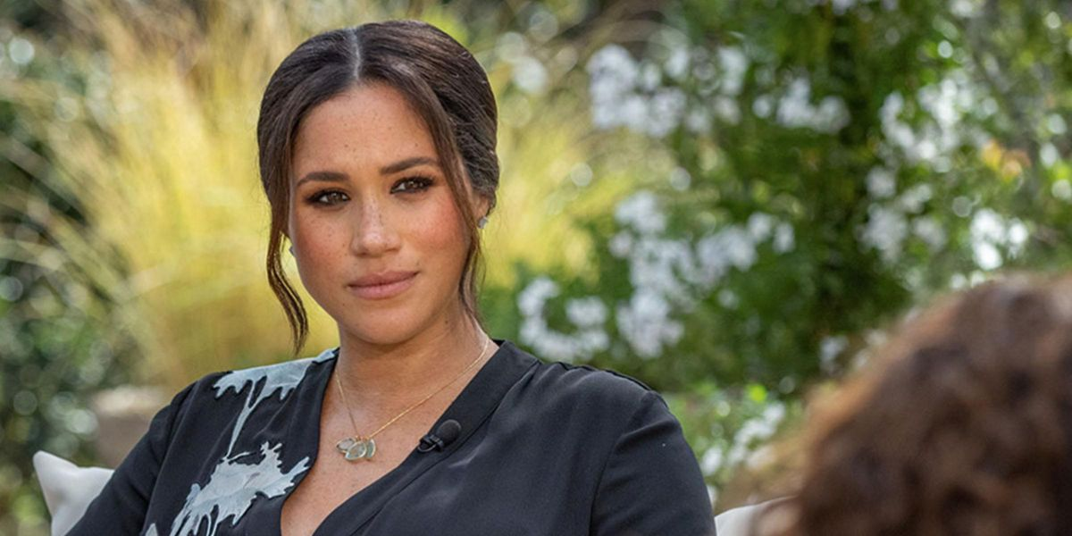The Hidden Meaning Behind Meghan Markle's Oprah Interview Dress