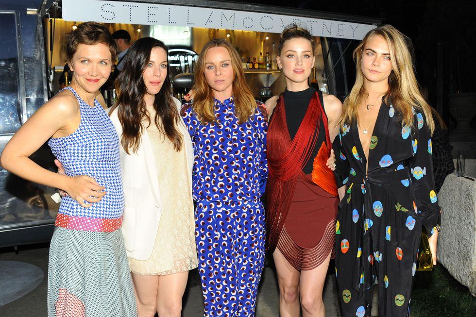 Cara Delevingne, Liv Tyler, Amber Heard and More at Stella McCartney's Spring Presentation