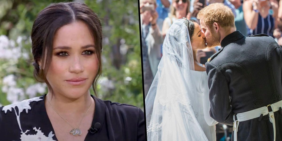 Meghan Markle Says She Didn't Actually Marry Harry on Their Wedding Day