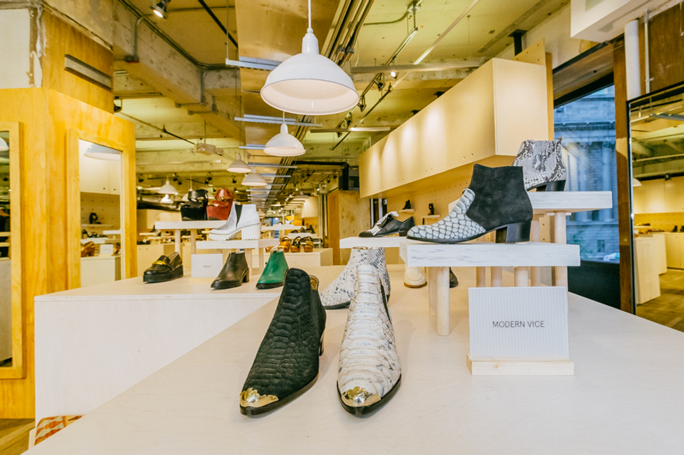 Urban Outfitters Opens a Shoe Boutique in Herald Square Store