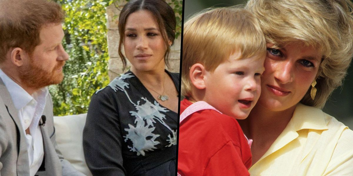 Harry and Meghan Have Been Relying on Inheritance From Princess Diana After Royal Family Cut Them Off