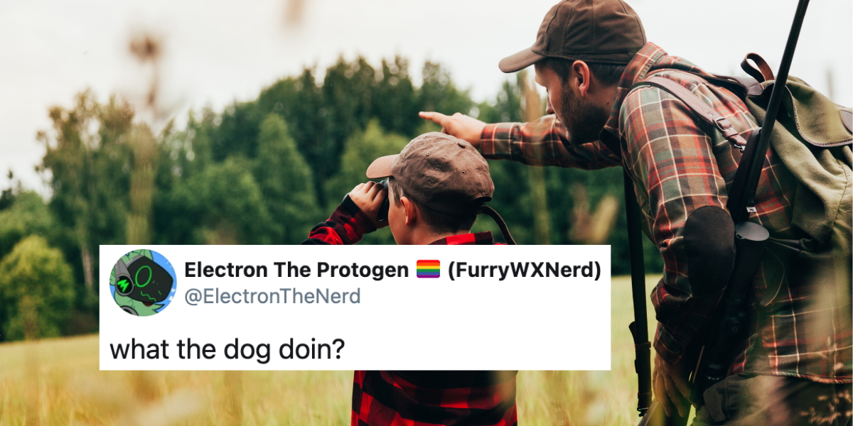 Rightwing Website Roasted For Posting Absurd Painting Of Family With Guns—Including The Dog