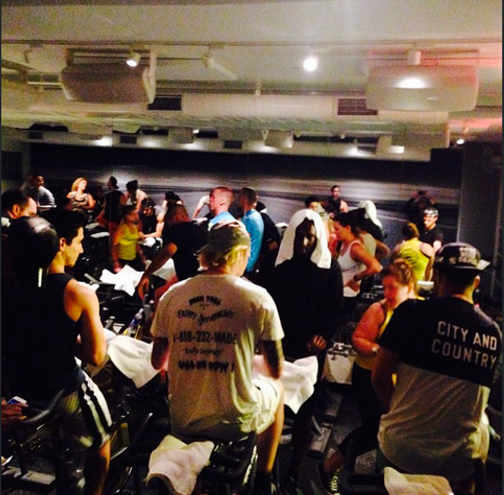 7 Observations From the VFILES x #Been #Trill SoulCycle Class
