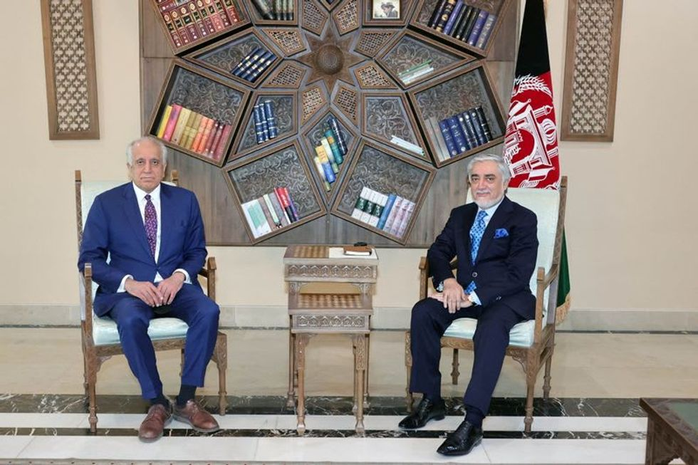 U.S. envoy visits Kabul looking for ways to speed up Afghan peace process Raw Story - World RSS Feed RAW STORY - WORLD RSS FEED : PHOTO / CONTENTS  FROM  RAWSTORY.COM #NEWS #EDUCRATSWEB