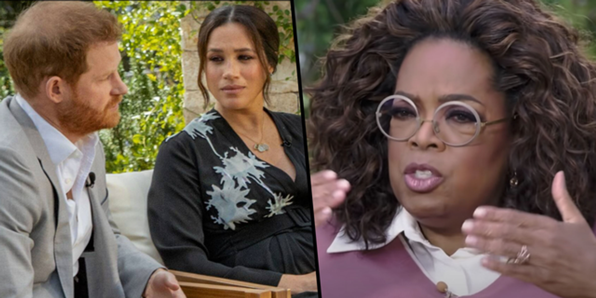 The First Teaser For Meghan Markle and Prince Harry's Oprah Interview Has Dropped and It's Really Intense
