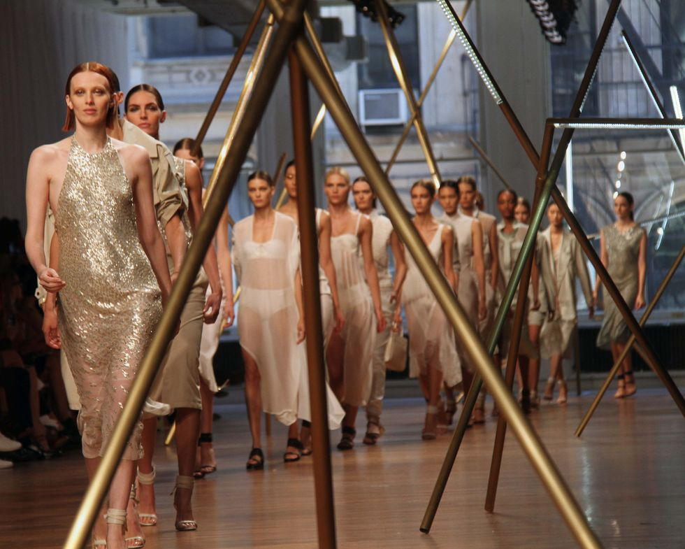 Scenes from the Jason Wu Fashion Show