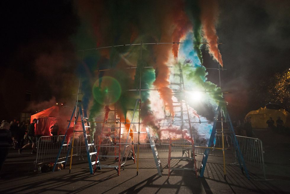 """Doug Aitken's Massive """"Station to Station"""" Project Kicks off in Brooklyn"""