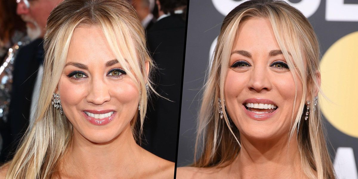 Kaley Cuoco Dragged Online Over Her 'Disgusting' Golden Globes Dress