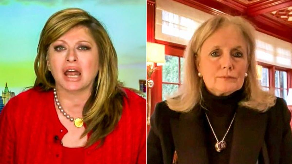 'We're not stupid!' Maria Bartiromo blows up at Debbie Dingell with unhinged rant against COVID relief