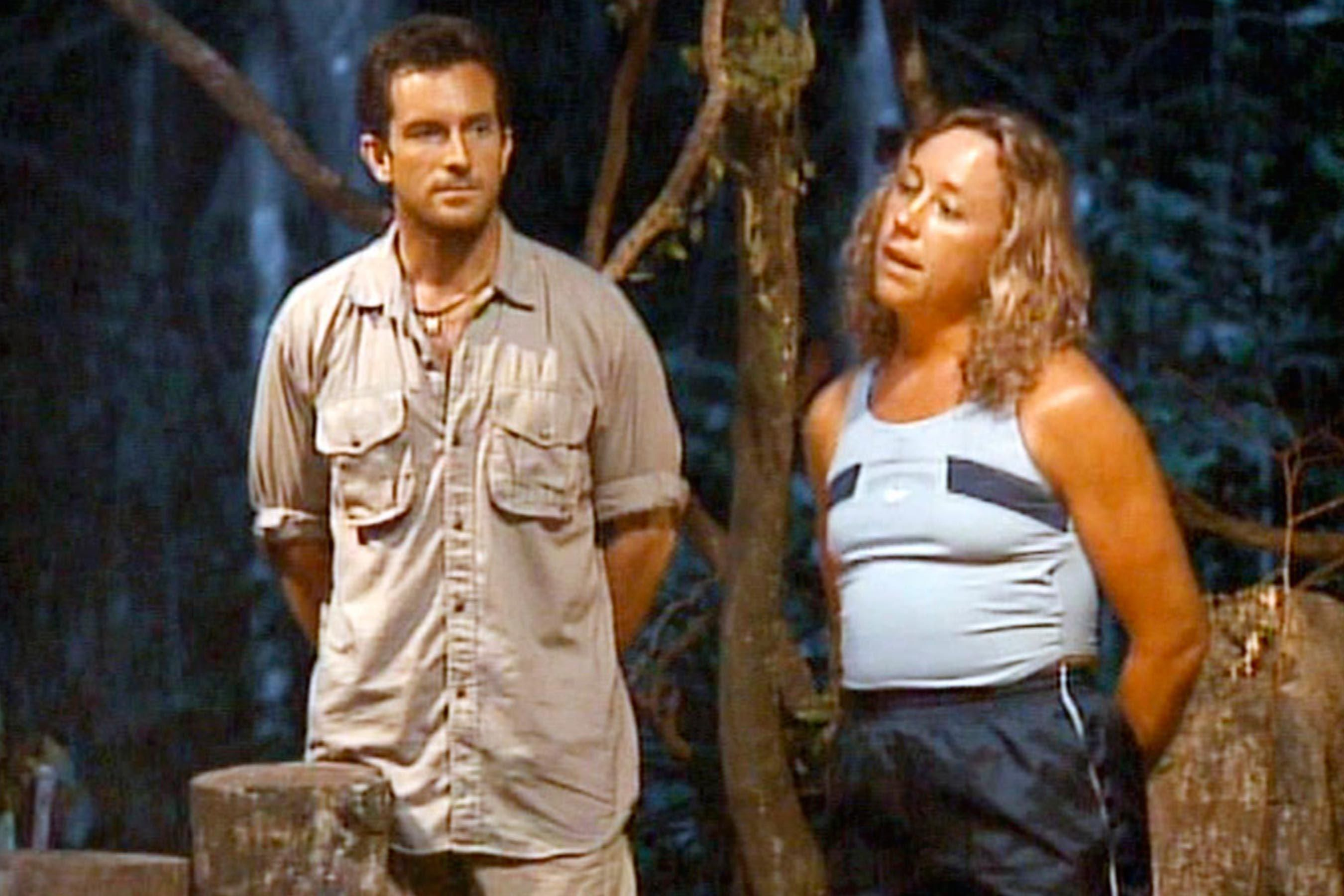 Jeff Probst and Sue Hawk