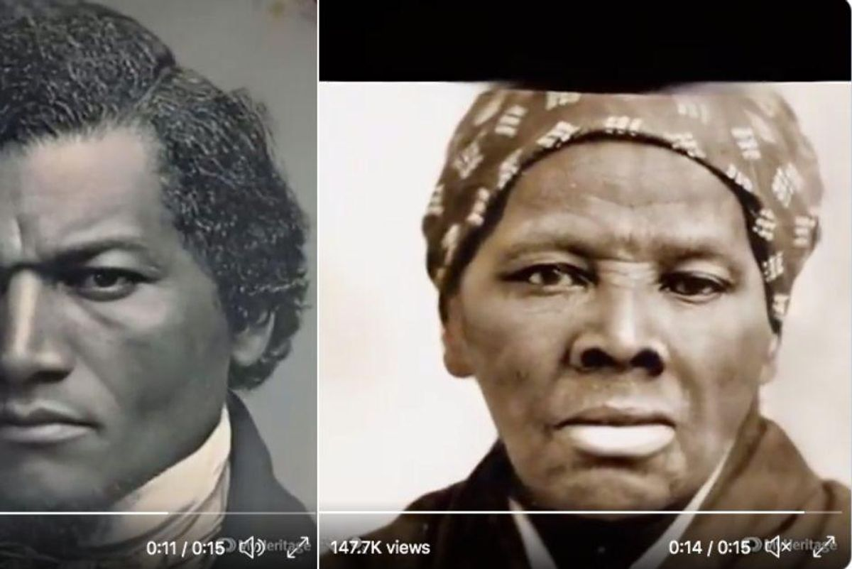 New technology shows what Frederick Douglass and Harriet Tubman looked like in motion