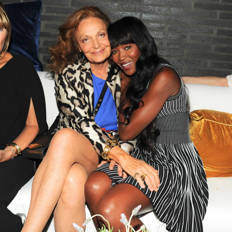 Scenes from Diane Von Furstenberg's Show and After Party