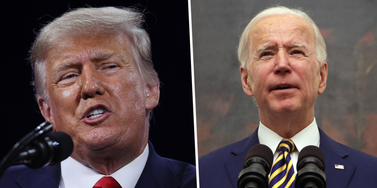 Donald Trump Says Joe Biden Had 'The Most Disastrous First Month of Presidency in Modern History'