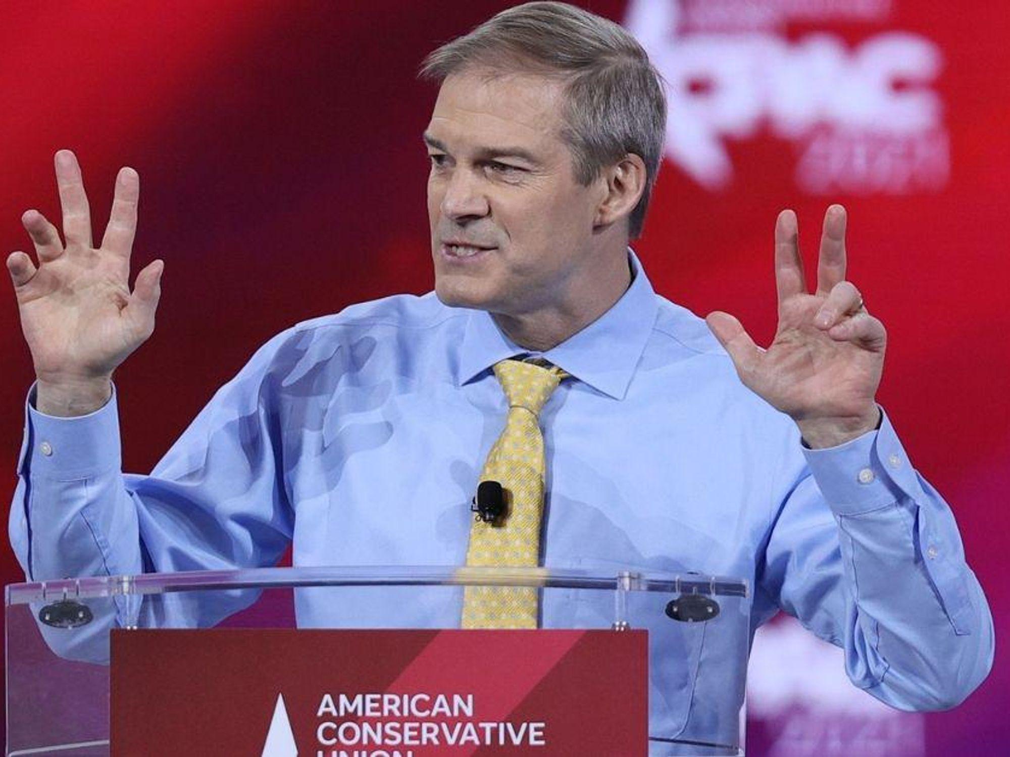 GOP Rep. Jim Jordan Dragged After Demanding A Congressional Hearing On 'Cancel Culture'