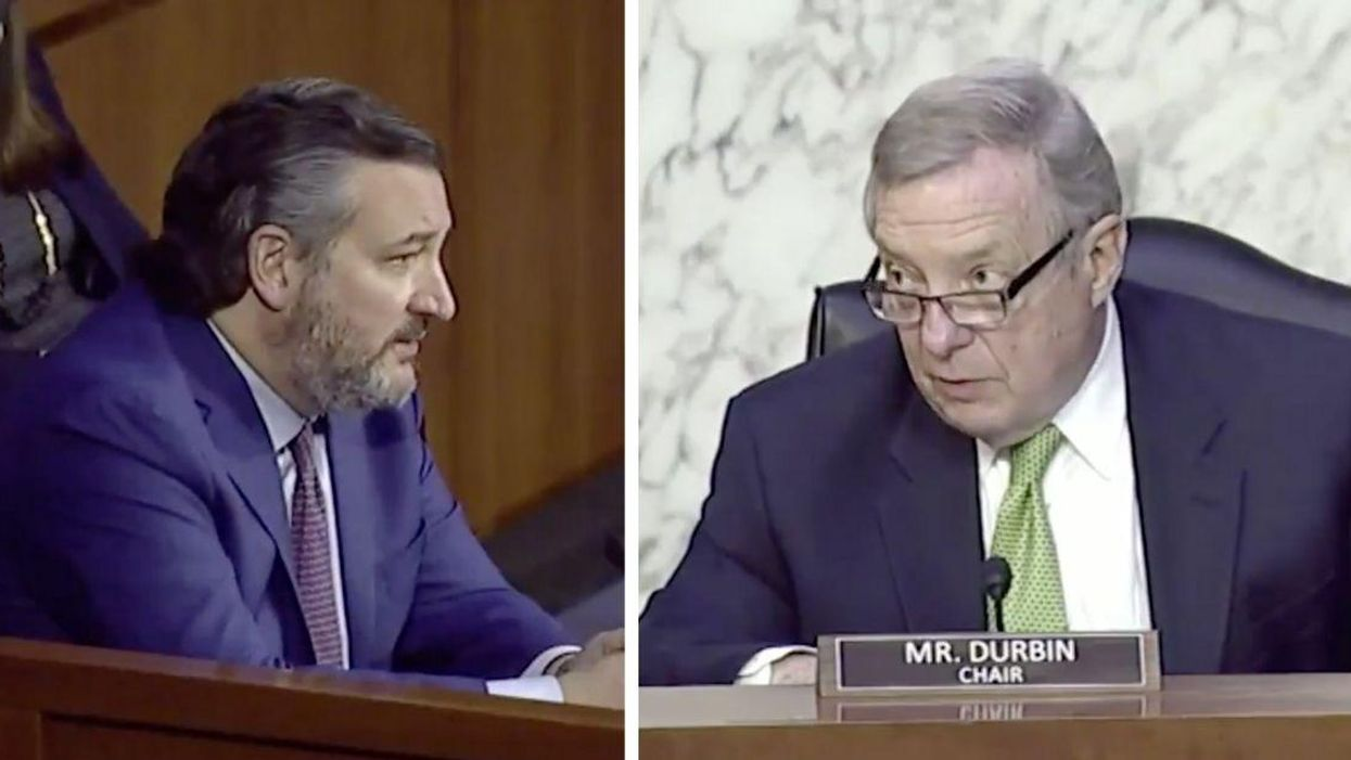 Ted Cruz's Overt Lies About Merrick Garland Instantly Shut Down By Committee Chairman