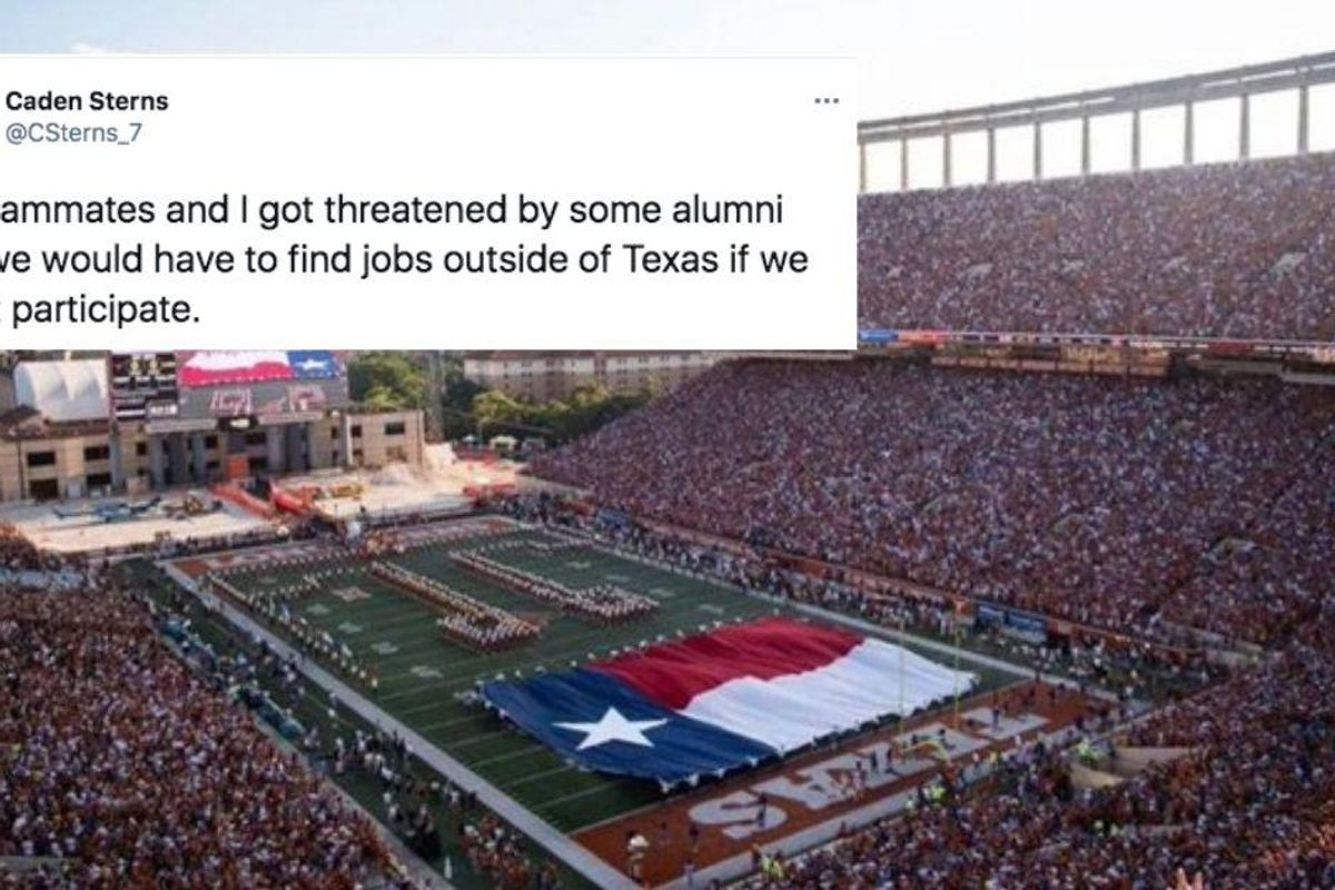 Is the University of Texas alumni song racist? Student athletes speak out against 'Eyes of Texas.'