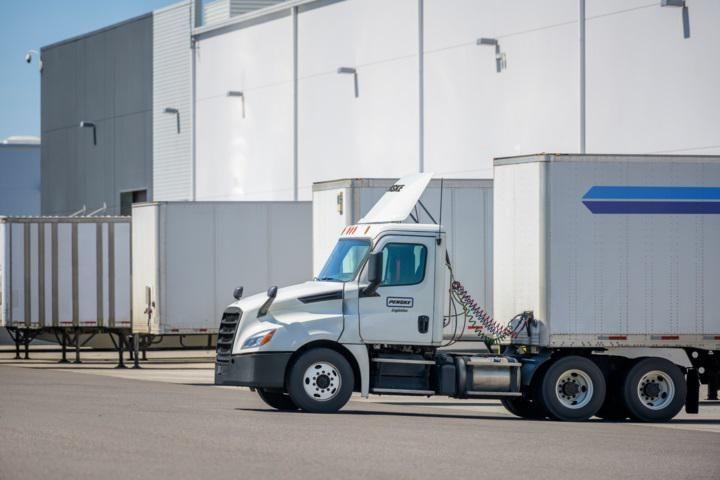 Penske Delivery Truck