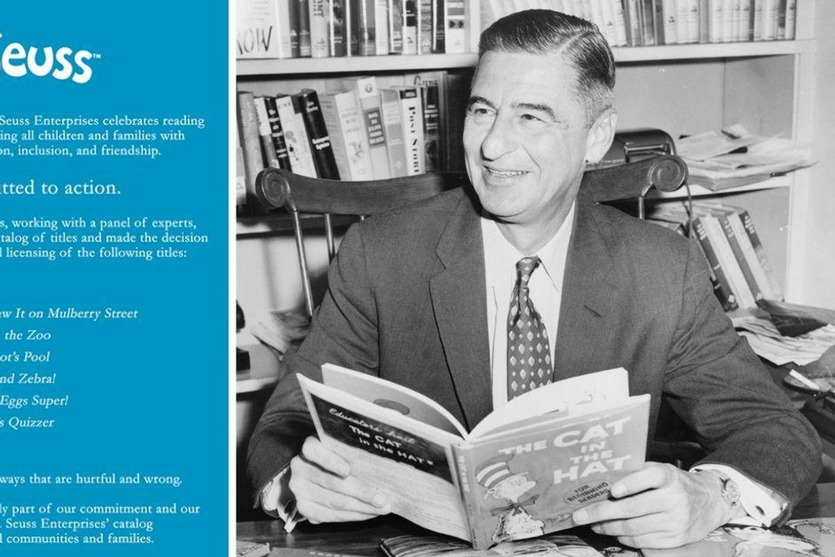 Dr. Seuss estate says it will stop publishing 6 books with 'hurtful and wrong' depictions