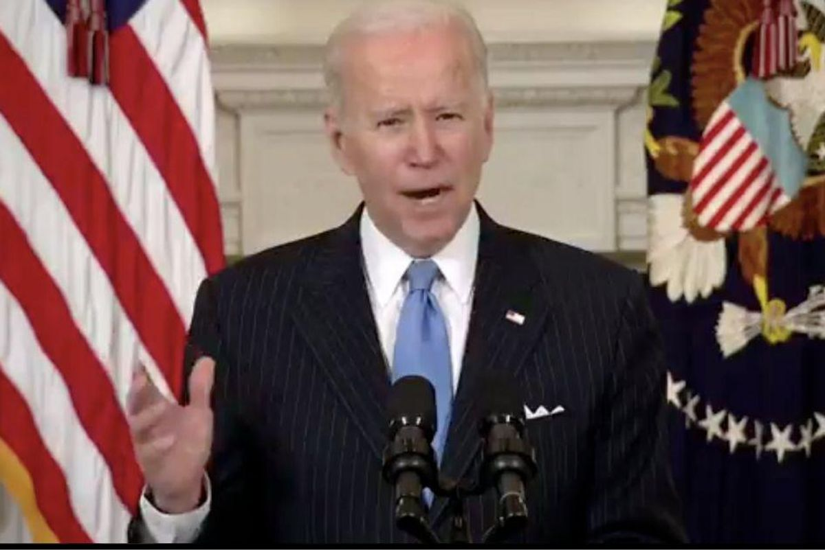 Biden announces that we will have enough vaccines for every adult in the U.S. by end of May