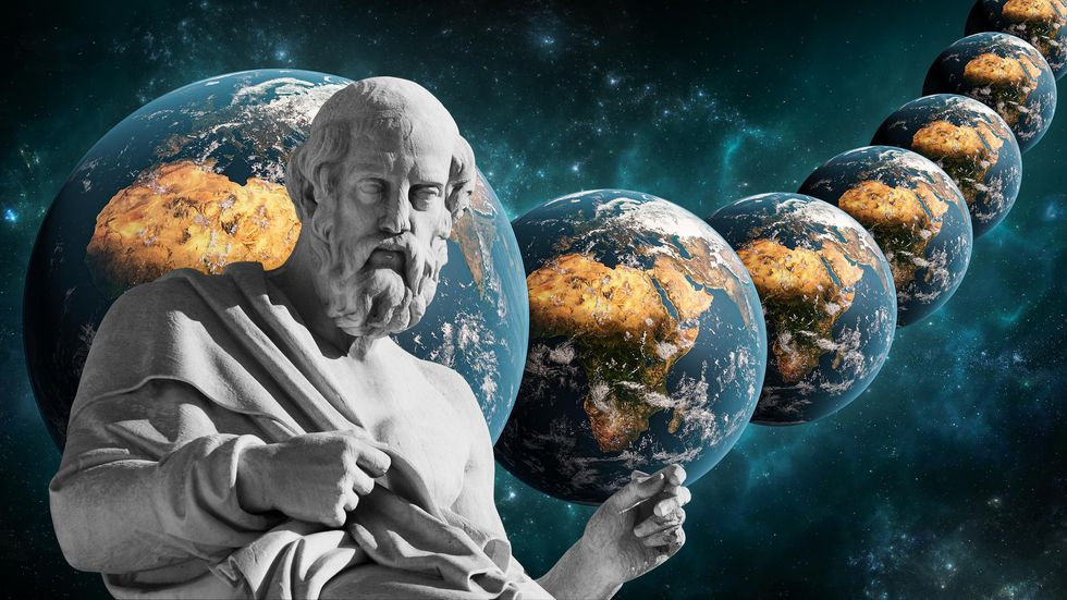 When does an idea die? Plato and string theory clash with data