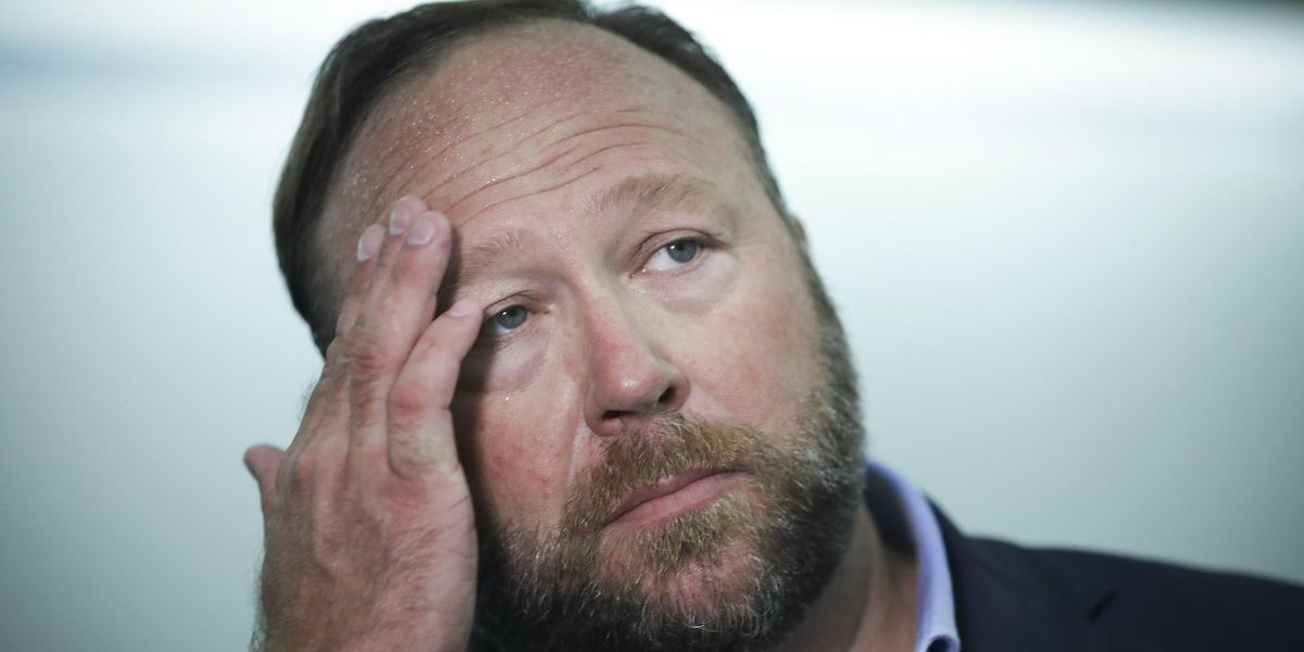 Alex Jones makes revealing comments about Trump in leaked video: 'I'm sick of it!'