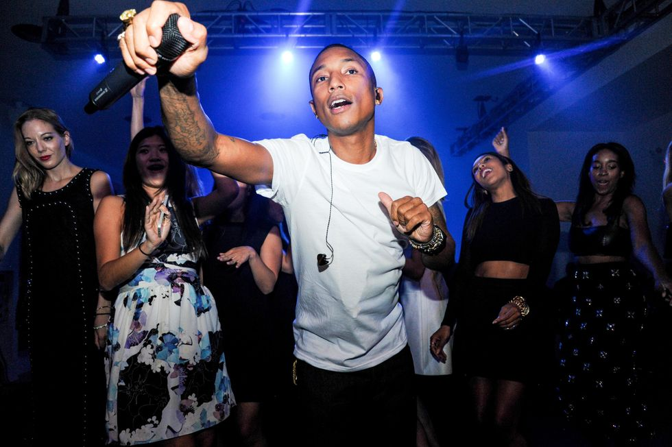 Up All Night with Pharrell and Calvin Klein