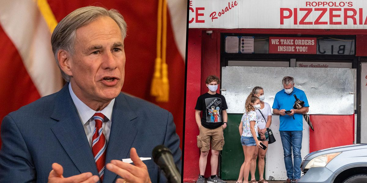 Texas Ends Its Mask Mandate and Says All Businesses Can Completely Reopen