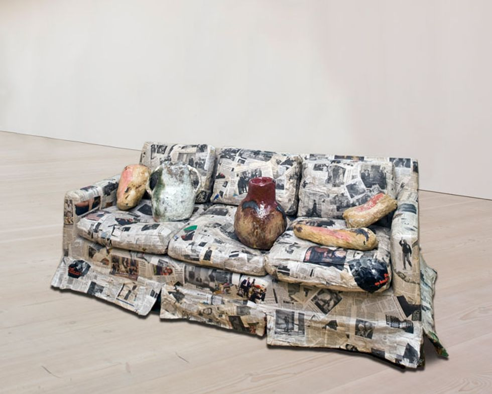 Rethinking Paper at London's Saatchi Gallery