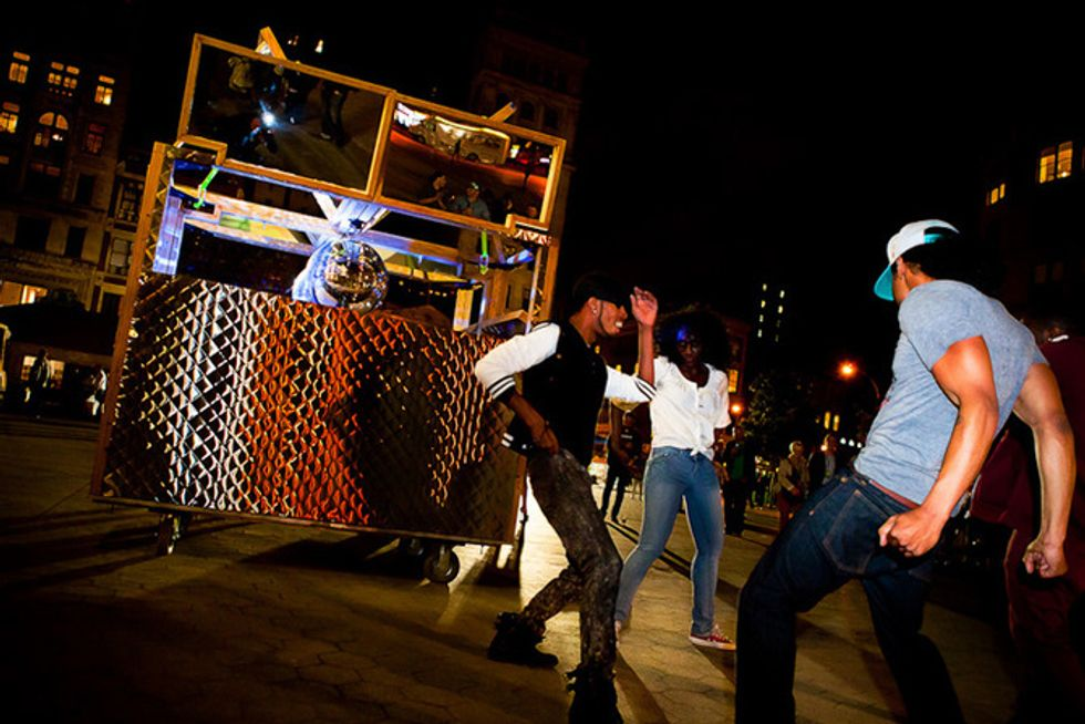 Mobile Disco Comes to Maker Faire This Weekend